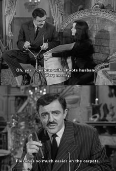 Tips for life from the Addams Family