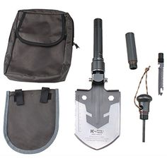 AGPtek Multi-Function Foldable Emergency Shovel Survival Tool with Axe/Saw/Knife/Klamm/Hoe Dismountable Great for Outdoor Camping, Climbing, Adventure, Travel, Gardening, Scientific Research AGPtEK http://www.amazon.com/dp/B00L4YG1IQ/ref=cm_sw_r_pi_dp_s991vb0TKD65X