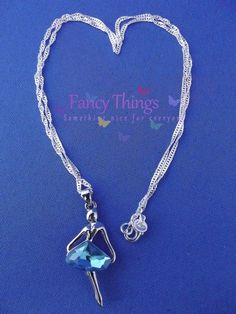 Sterling Silver Necklace (925) and Silver Colored Pendant.