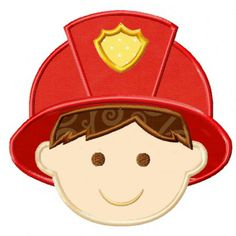 Fireman Applique