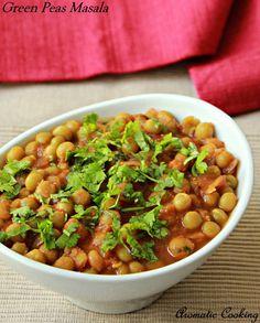 Aromatic Cooking: Green Peas Masala #food #recipe
