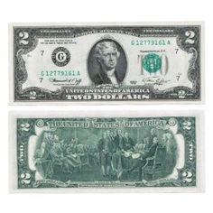 1976 Bicentennial $2 Bill