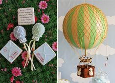 look at the hot air balloon cake pops! i need a reason to have a party! :) -k @Heather-Mike Stone get on it. :)