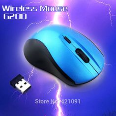 Portable Optical Lenovo Wireless Mouse USB Receiver RF 2.4G For Desktop & Laptop PC Computer Peripherals Accessories 6200 #shoes, #jewelry, #women, #men, #hats, #watches