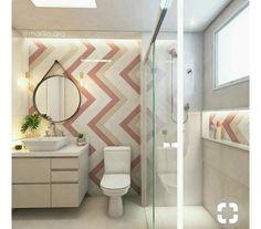 Ideas Wall Paper Home House Powder Rooms Baby Bathroom, Modern Bathroom, Best Living Room Wallpaper, Modern Wallpaper, Box Bedroom, Bedroom Vintage, Bedroom Rustic, Trendy Bedroom, Bathroom Inspiration