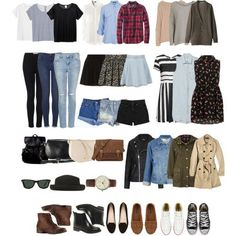 School Outfit Ideas (polyvore on we heart it)