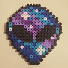 Alien perler beads by _roxyskandi More