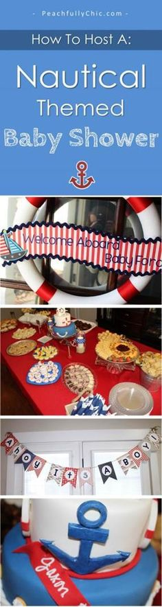 Nautical Themed Baby Shower Ideas