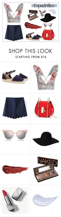 """Untitled #174"" by sandra-sivache on Polyvore featuring Castañer, Zimmermann, Fendi, Monki, By Terry, Urban Decay and Burberry"