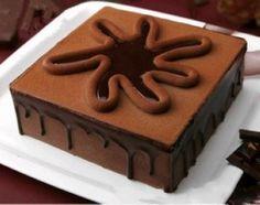Fragrant chocolate mousse cake