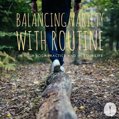 A routine is never much fun without variety, and variety won't get you anywhere without being complemented by routine. We all need both, but how do we strike that right balance? There's more to it than just sticking to a plan or being ultra spontaneous!