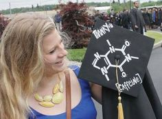Chemistry graduation cap