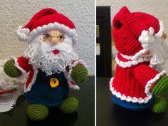 Дед Мороз амигуруми. А может, Санта-Клаус амигуруми :)