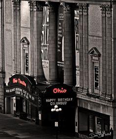 Columbus, Ohio: Ohio Theater by dandemura, via Flickr