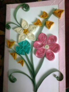 card quilling