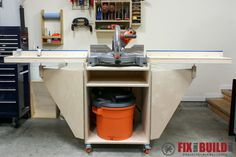 """The PDF download includes 6 pages of Cut Diagrams, Parts Lists, and 3D diagrams with 19 detailed steps to build the project. The Mobile Miter Saw Station is made from 2 sheets of 3/4"""" plywood. It's 39"""" tall on 3"""" casters. With wings extended it's 93-1/4"""" wide and will support just under 4' of stock on each side, allow you to make end cuts on 8' stock with support. You'll also get great weekly updates from my site with new projects. Don't w..."""