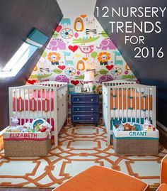 Nursery Trends You'll Want to Try in 2016 - Project Nursery