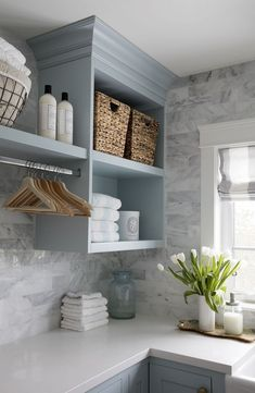 7 Small Laundry Room Design Ideas - Des Home Design Home Design, Küchen Design, Design Ideas, Interior Design, Design Room, Laundry Room Remodel, Laundry Room Organization, Laundry Storage, Laundry Room Makeovers