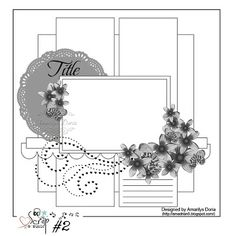 Catherine Scrapbooking: SCRAP & MUSIC ... SKETCH # 2