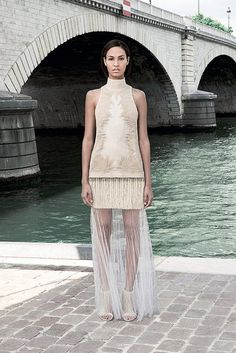 Drew Barrymore wore this... Just sayin'. Fall 2011 Givenchy Couture #bridal #idea