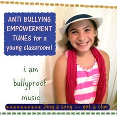 Bullying Prevention classroom music!  Empowerment songs grades 1-3. Set a magical mood for your classroom! Lyrics included. Studio recorded with a full band, young voices, and much heart! A perfect way to remind your students to be thankful this week-- and always! $