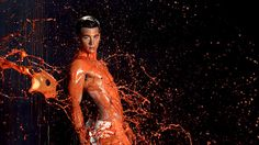 Jeremy . America's Next Top Model, Cycle 20: Guys & Girls > Photoshoot 5: Body Paint in Slow Motion (Comeback Series)