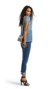 CAbi Spring '15 - Button Back Tee with Laguna Wash Slim Boyfriends #CAbiwithKelsey #CAbiClothing