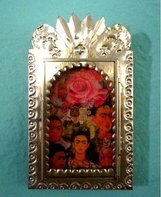 frida kahlo nicho via www.sharonna.etsy.com