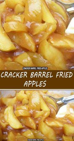 Cracker Barrel Fried Apples, Cracker Barrel Pancakes, Cracker Barrel Chicken, Cracker Barrel Recipes, Fruit Recipes, Apple Recipes, Snack Recipes, Dessert Recipes, Cooking Recipes