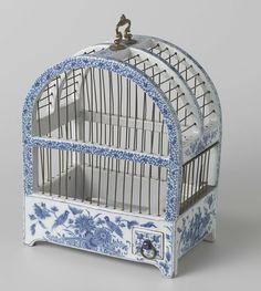 ceramic bird cage/ Rijksmuseum Amsterdam