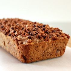 peanut butter chocolate granola loaf. how about this for breakfast.