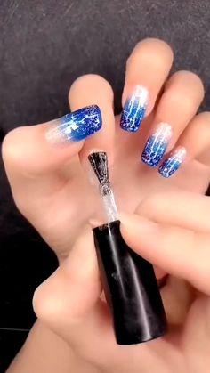 Nagellack Design, Nagellack Trends, Nail Art Designs Videos, Nail Art Videos, Gel Nails, Acrylic Nails, Nail Polish, Coffin Nails, Nail Art Hacks