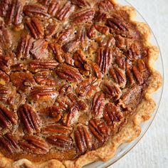 Pumpkin and Caramelized-Pecan Pie #Thanksgiving #baking | Health.com