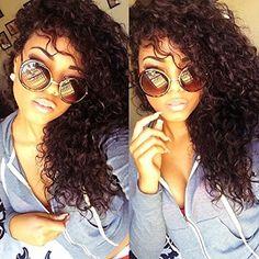 Não processado Brasileiro Virgem Cabelo Kinky Curly Full Lace Cabelo Humano Wig & Lace Front Peruca Cor Natural Peruca de Cabelo Humano Instock