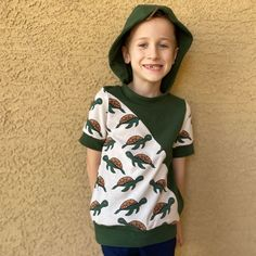 @5outof4patterns posted to Instagram: How awesome is this turtle shirt?! I think it is so fun!!! This was made with the Kids' Valerie Top pattern. It even has pockets!! You can read more about the awesome Kids' Valerie Top pattern and see all the options with the pattern link in my bio!! #5outof4patterns #pdfsewingpatterns #5oo4 #pdf #isew #sewcialists #handmadewardrobe #sewing #sew #sewingproject #fabric #sewingforkids #sewingforboys #sewingforgirls #handmadeclothing #isewmyownclothes #sewerso