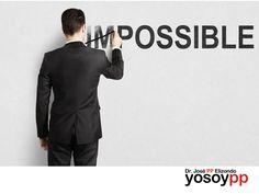La confianza en uno mismo. SPEAKER PP ELIZONDO. Para poder realizar algo, primero debemos creer que podemos hacerlo y que lo merecemos, muchas veces contamos con todas las aptitudes, pero no nos consideramos merecedores. Le invitamos a visitar la página www.yosoypp.com.mx, o contáctenos al 01-800-yosoypp (96 769 77) para conocer los diferentes cursos, talleres y conferencias que imparte el doctor PP Elizondo referentes a este tema.  #yosoypp