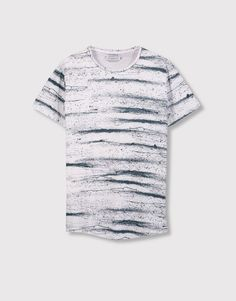 54a914fd3 9 Best Full Print T-Shirt images | Polo shirts, Men's, Pull & bear