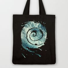 Water I Tote Bag by Dr. Lukas Brezak - $18.00