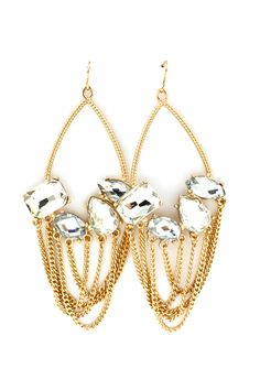 Crystal Maggie Chandelier Earrings