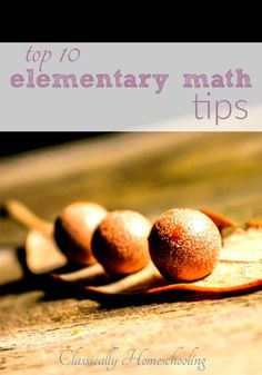Elementary math isn't always the easiest subject to teach, but it's tons of fun. You can discuss fractions while making cookies and counting ducks at the pond. How To Make Cookies, Making Cookies, Homeschool Math Curriculum, Homeschooling, Math Activities For Kids, Math Resources, Thing 1, Math Books, Math Lessons