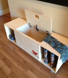 plywood bench seat diy - Google Search