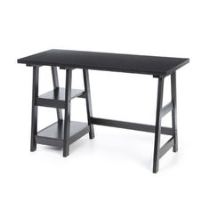 Superior Convenience Concepts Trestle Desk #3: 3823d98b505e14ff9435f154a490c722.jpg