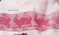 Facilite Sua Arte: Vagonite 24 - Coelhos em oitinho na cor vermelha