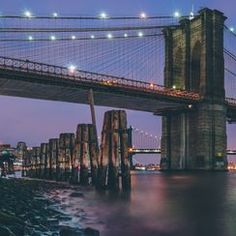 New York to Brooklyn Travel Videos, Brooklyn Bridge, National Geographic, Planets, York, Country, City, Photography, Photograph