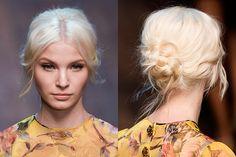 Guido hairstyle - Dolce & Gabbana, Fall 2014
