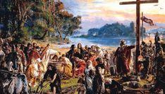 Historical Facts about the Baptism of Poland Jan Matejko, Introduction of Christianity, photo: Wikimedia Commons Poland History, Poland Travel, Les Religions, European Paintings, Great Paintings, Oil Painting Reproductions, Central Europe, National Museum, Eastern Europe