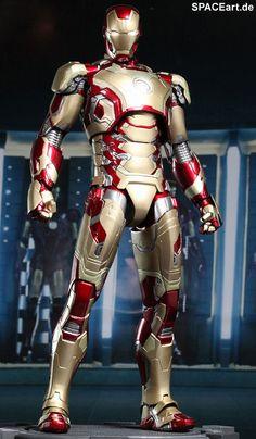 Iron Man 3: Iron Man Mark XLII - DieCast Deluxe Figur, Fertig-Modell ... http://spaceart.de/produkte/irm020.php