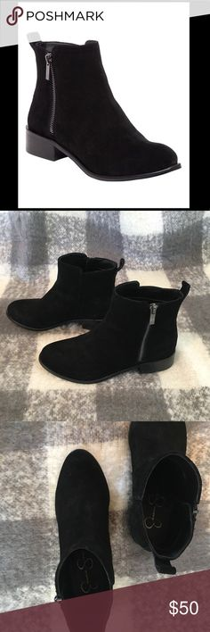 ⚡️Flash Sale⚡️ Jessica Simpson Kesaria Ankle Boots Used: Great condition Color: Black Suede I have other items listed in my closet. If you're interested in this, you might be interested in something else I have up. Check it out. :) Happy shopping! ⭐️ Top-rated Seller! Fast Shipper! Reasonable Offers Considered Jessica Simpson Shoes Ankle Boots & Booties