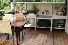 Uterom Outdoor Furniture Sets, Decks
