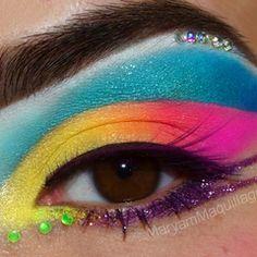 Eye of the Tropics look on Makeupbee